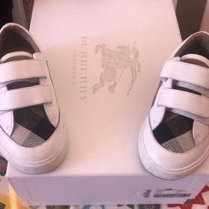 Kids Burberry sneakers